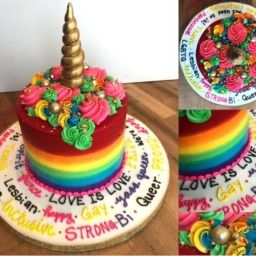 Ontario Customer Asked For The 'Gayest' Cake, And Boy, Did He Get One